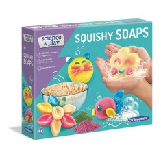 """Clementoni Science and Play """"Меки Сапуни - Squishy Sopas """" (8+год.)"""