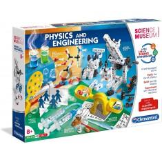 "Clementoni Science and Play сет ""Физика и Инженерство"" (8+год.)"
