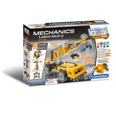 """Clementoni Mechanics """"Голема Механичка Лабараторија КРАНОВИ"""" (8+год.)"""
