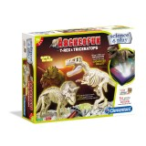 """Clementoni Science and Play Archeofun """"T-Rex & Triceratops"""" (7+год.)"""