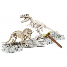 "Clementoni Science and Play Archeofun ""T-Rex & Triceratops"" (7+год.)"