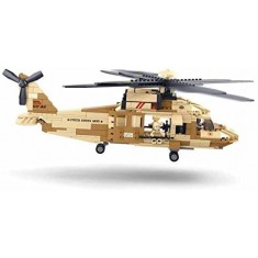 "Sluban Army - Воен Хеликоптер ""Black Hawk"" 439 коцки (6+год.)"