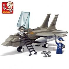 "Sluban Army - Авион Ловец ""F-15"" 142 коцки (6+год.)"