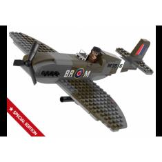 "Sluban Army - Воен Авион ""Spitfire"" 182 коцки (8+год.)"