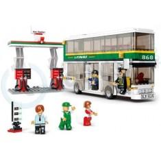 "Sluban Town - Автобус ""Double -Decker"" (6+год.)"