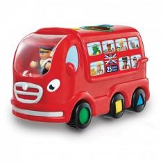 """WOW Toys Шејп сортер Лондонски Автобус """"Leo"""" (1-5год.)"""