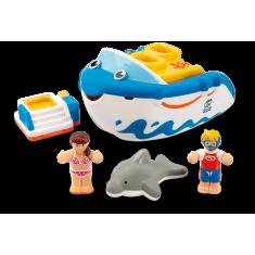 """WOW Toys Сет од 3 играчки """"Bathtime Friends"""" (1-5 год.)"""