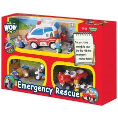 """WOW Toys Сет од 3 Играчки """"Emergency"""" (1,5-5год)"""