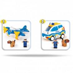 "WOW Toys Сет од 2 Играчки ""Police Patrol Pals"" (1,5-5 год.)"
