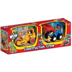 "WOW Сет од 2 Играчки ""Construction Crew"" (1,5-5 год.)"